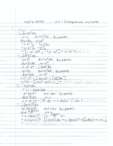math-009b-lecture-10-lecture-10-math-009b-6-2-integration-by-parts