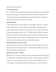 FA 34a Lecture Notes - Lecture 5: Kofun Period, Mohenjo-Daro, Dholavira