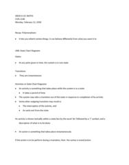 COIS 2240H Lecture 6: WEEK 6 LEC NOTES