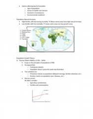 GEOG 1HB3 Lecture Notes - Lecture 14: Thomas Robert Malthus