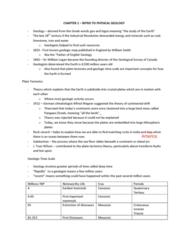 EESA06H3 Study Guide - Midterm Guide: Craton, Schist, Basalt