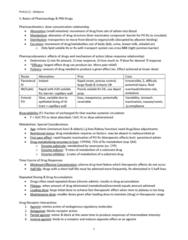 PHA 3112 Study Guide - Midterm Guide: Phantosmia, Transcranial Magnetic Stimulation, Coma