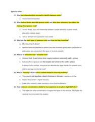 ESCI 1001 Study Guide - Quiz Guide: Clay Minerals, Batholith, Banaba Island