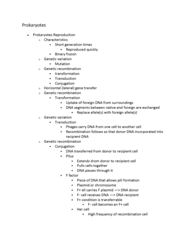 life-121-lecture-13-exam-2-prokaryotes