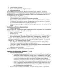 ACTG 2P40 Lecture Notes - Lecture 8: Contributory Negligence, Credit Union, False Imprisonment