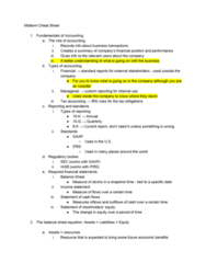 ECON 4 Lecture Notes - Lecture 8: Bookkeeping, Deferral, Net Income