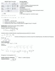 STAT 2050 Study Guide - Midterm Guide: Street Fighter Alpha 3, Standard Deviation
