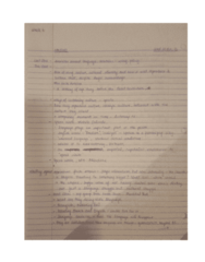 CANS 310 Lecture 10: CANS 310 Notes 12th Oct