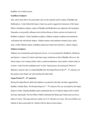 FA 34a Lecture Notes - Lecture 11: Standing Buddha, Mahayana, Schist