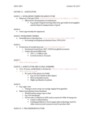 GEOG 2EI3 Lecture Notes - Lecture 11: Selective Breeding