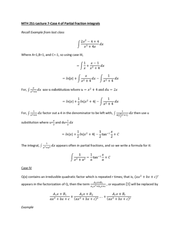 mth-251-lecture-7-case-4-of-partial-fraction-integrals