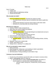 JMC 1100 Lecture Notes - Lecture 5: Netflix