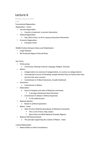 political-science-1020e-lecture-6-regionalism