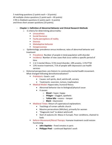 PSY-303 Study Guide - 2018, Quiz - Apperception, Operant