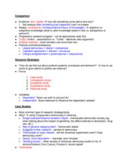 Political Science 1020E Study Guide - Quiz Guide: Selection Bias, Ethnocentrism, Spurious Relationship