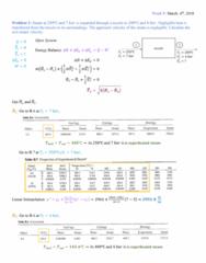 PROCTECH 2EC3 Lecture Notes - Lecture 16: Ideal Gas, Thermostat, Pressure Measurement