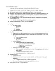 ANTH 103 Lecture Notes - Lecture 10: Environmental Degradation, Guitarrero Cave, Cassava