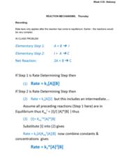 CHEM 102 Lecture Notes - Lecture 10: Exothermic Reaction, Joule, Boltzmann Distribution