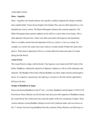 FA 34a Lecture Notes - Lecture 15: Yayoi Period, The Tale Of The Heike, Onna-Bugeisha