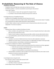 PSYC 217 Study Guide - Final Guide: Factorial Experiment, Inter-Rater Reliability, Synesthesia