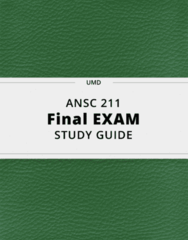 ANSC 211- Final Exam Guide - Comprehensive Notes for the exam ( 22 pages long!)