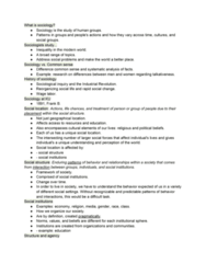 SOC 104 Lecture Notes - Lecture 30: Sociological Inquiry, Wage Labour, Social Inequality