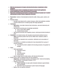 ANTH 103 Lecture Notes - Lecture 15: Consolidated Laws Of New York, Population Control, Social Stratification