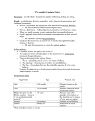 PSY 1102 Lecture Notes - Lecture 6: Iceberg Theory, Electra Complex, Iceberg