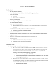 Women's Studies 2163A/B Lecture Notes - Lecture 3: Clitoridectomy, Healthy Choice, Orgasm