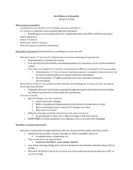 Women's Studies 2163A/B Lecture Notes - Lecture 1: Sexual Orientation, Heterosexuality, Social Stigma