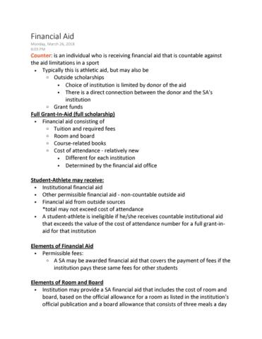 kin-5804-lecture-8-financial-aid