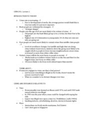 notes on white collar crime