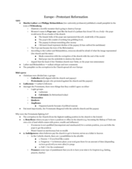 HIST111 Study Guide - Midterm Guide: Deodorant, Calvinism, Cantar De Mio Cid