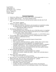 ANT 101 Lecture Notes - Lecture 21: Commodification, Seal Hunting, Sedentary Lifestyle