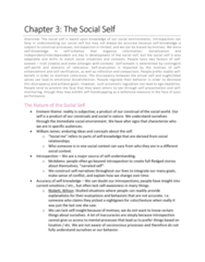 PSYCH 2800 Chapter Notes - Chapter 3: Impression Management, Australian Council Of Trade Unions, Signify