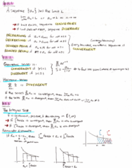 MATH 152 Final: Chapter 11 Review/Summary Notes