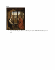 ART HIST 250 Lecture Notes - Lecture 7: Jan Van Eyck, Limbourg Brothers, Recto And Verso