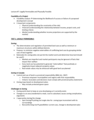 REAL 4830 Lecture Notes - Lecture 7: Traffic Light, Riocan Real Estate Investment Trust, Urban Sprawl