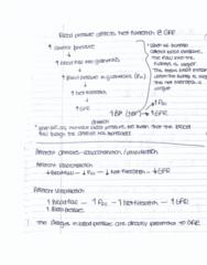 BIOL 2060 Chapter 6.0: blood pressure affects net filteration