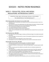 SOC 633 Chapter Notes - Chapter 3: Hermaphrodite, Heterosexuality, Human Body