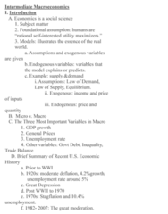 IAS 107 Lecture Notes - Lecture 1: Great Moderation, Gdp Deflator, Stagflation