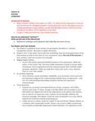 Women's Studies 1020E Lecture Notes - Lecture 22: Laverne Cox, Caitlyn Jenner, Trans Woman