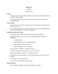 HROB 2090 Lecture Notes - Lecture 14: Targeted Advertising, Crowdsourcing, Information Overload