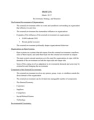 HROB 2090 Lecture Notes - Lecture 20: Virginia Department Of Alcoholic Beverage Control, Role Conflict, Job Design