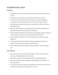 ITEC 1000 Chapter Notes - Chapter 4: Application Software, Cloud Computing