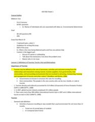 GEO 802 Lecture Notes - Lecture 1: Machu Picchu, Waldo R. Tobler, Neurosurgery