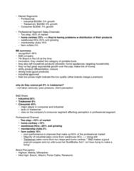 RSM251H1 Lecture Notes - Lecture 1: Dewalt, Ryobi, Porter-Cable