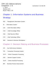 ITM 102 Study Guide - Final Guide: Sales Force Management System, Retail, Application Service Provider