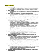 ECO 100 Lecture Notes - Lecture 3: Venule, Hematocrit, Fetal Alcohol Spectrum Disorder