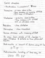 CHEM 102 Lecture 7: Chapter 9- Atmospheric Chem